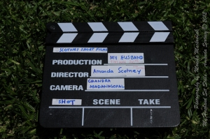 Clapper board for 'My Husband'