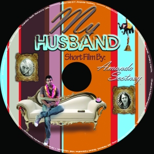 My Husband DVD - art design by Monika Mackowiak
